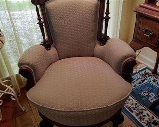 Aesthetic style arm chair