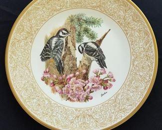 Boehm bird plate