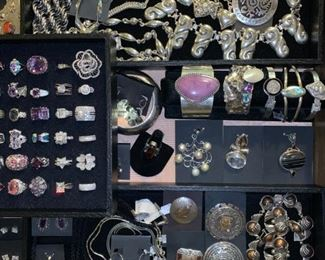 Sterling silver jewelry from Mexico, Peru, Poland and more, all 50% off!