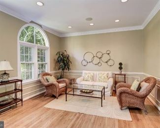 Pottery Barn chairs pictured
