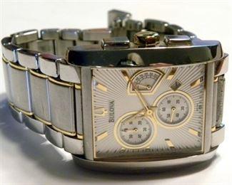 Bulova Stainless Wristwatch