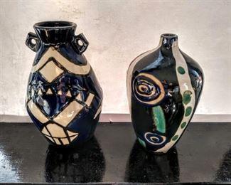 Bohemian Art Vases