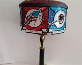Vintage Bicentennial Anniversary lamp