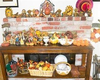 Thanksgiving and fall chachkas