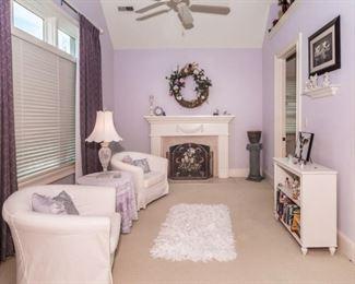 Bedroom sitting room