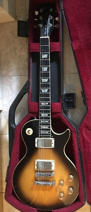 6. 1981 Gibson Standard Les Paul Model Electric