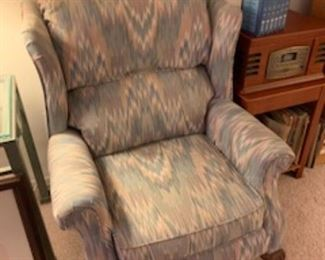 Spotless wing back chair