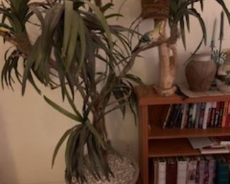 Large artificial plant in southwestern pottery