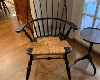 Vintage bow back windsor chair - beautiful!