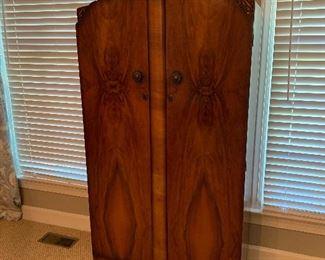 Vintage flame mahogany wardrobe...excellent condition
