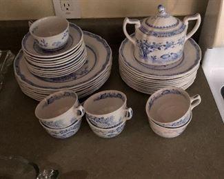 Furnivals Blue Quail china