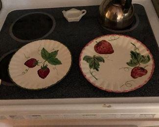 Blue Ridge Pottery plates