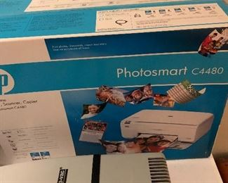 New HP printer never opened
