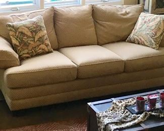 TAN SOFA/COUCH