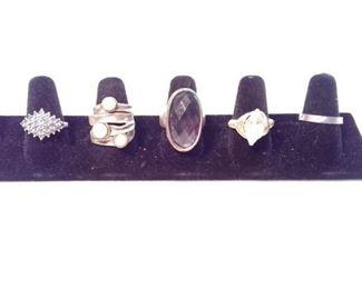 sterling Israeli ring