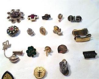pins and lapel pins