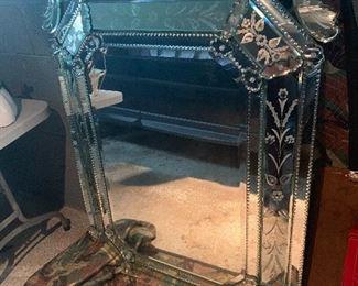 Beautiful ornate mirror  $500