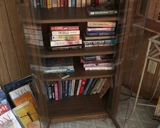 STEREO CABINET BOOKS