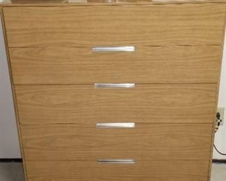 MCM Dresser with chrome hardware & legs <3