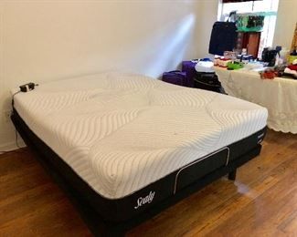 """Ease"" by Sealy Queen Adjustable Platform Bed - $495"