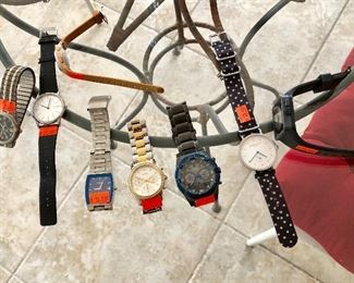 Name Brand Watches, Including GUESS