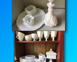 Milk Ware. Some Authentic, some fake. Great condition.