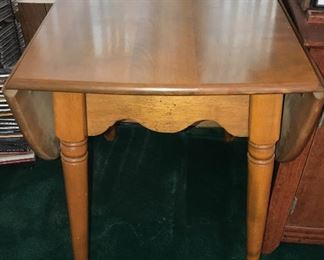 Vintage fold out table. Great condition.