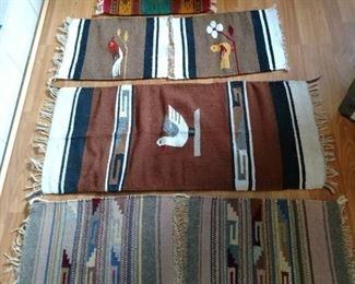 4 Mexican Rugs