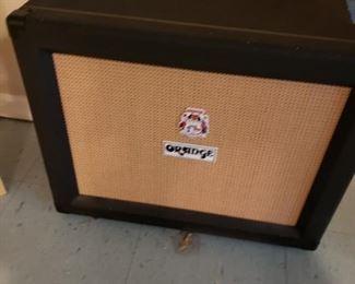 Orange Guitar Cabinet