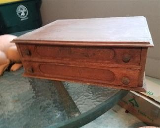 Antique Spool Cabinet  ^ $75.00