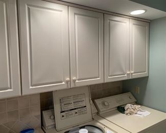 Lovely laundry room cabinets