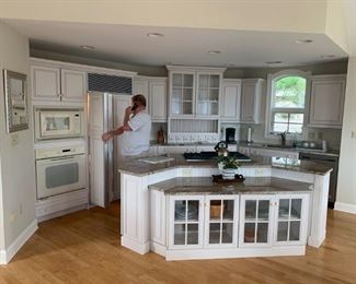 Gorgeous custom kitchen with Decora cabinetry