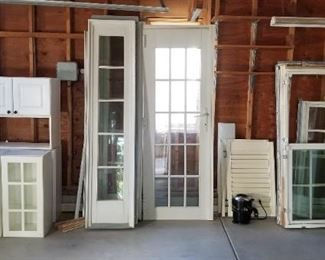 A plethora of top quality windows and doors ready to be installed in your home