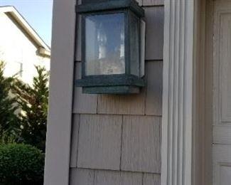 Handsome exterior lights