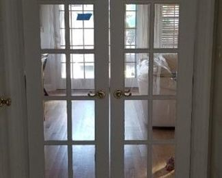 Wonderful interior doors throughout