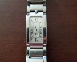 Movado Elliptica Quartz Watch MSRP $1199.99