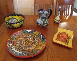 Nice Variety of Ceramic Serving Pieces & Decor