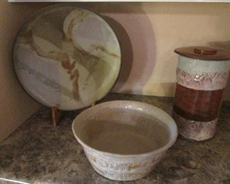 Very Nice Ceramics, Great for Gift Giving this Holiday Season!  Come early to select your favorites!