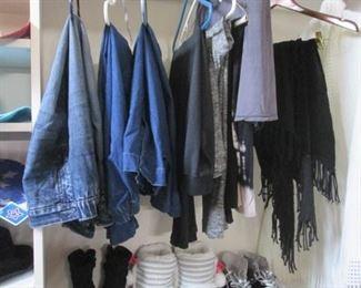 Ladies Scarves, Boots & Shoes