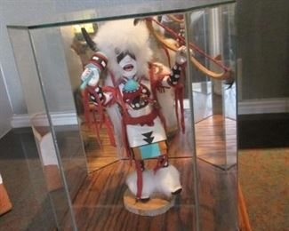 Kachinas in Cases