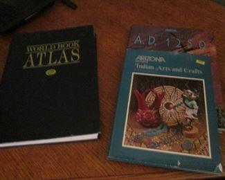 World Book Atlas & Arizona Highways Magazine