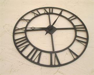 Metal Wall-Mount Clock