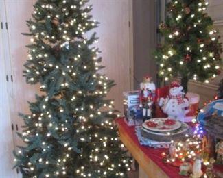 Tall & Table-Top Christmas Trees, Holiday Decor