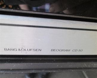 Vintage CD 50 Compact Disc Player--SOLD FOR PARTS ONLY