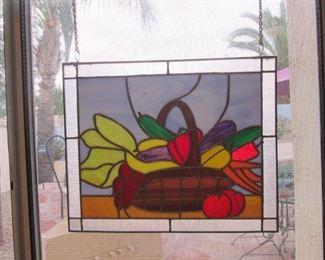 Hanging Glass Panels