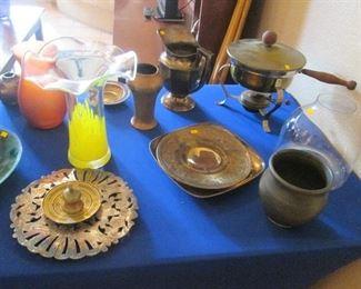 Treasures Abound! Vintage, Metal, Glass, Ceramic
