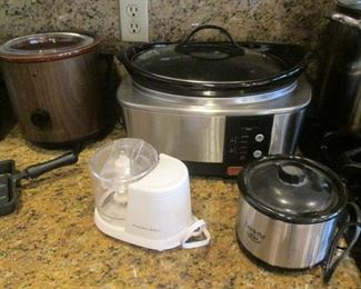 Assorted Small Appliances