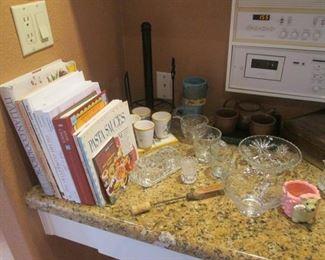 Cookbooks & Glassware