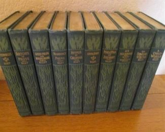 10 Volume Book Set