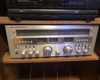Vintage receiver stereo